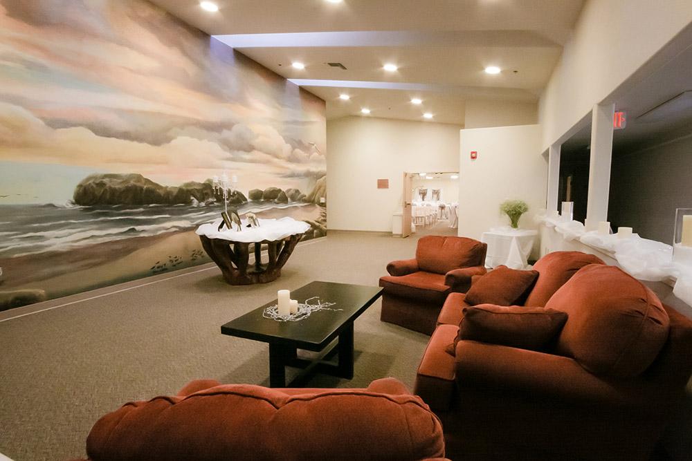 Bandon Community Center Wedding Lobby Rental