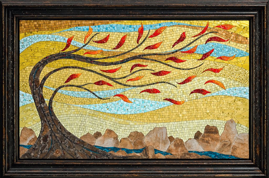 "mosaic ""If I Were a Tree"" Jacqueline Iskander"