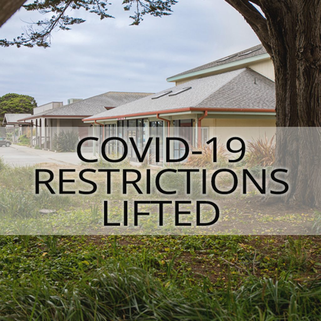 COVID-19 Restrictions Lifted